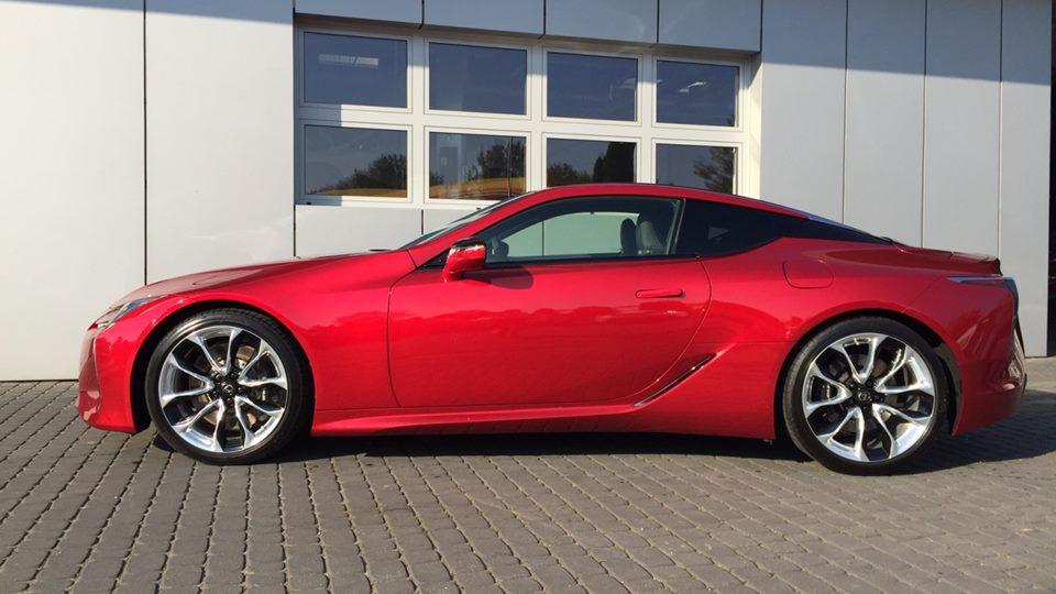 Lexus lc 500 cena