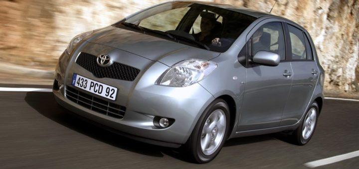 Toyota Yaris Ii żarówki Spis Dailydriverpl